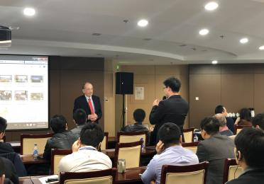 TPA professor exchanges ideas with China industry practitioners in CNOOC.